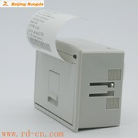 Wholesale Beijing Rongda Embedded Thermal Mobile Printer TTL Interface Anti Dust Auto Cabinet Receipts ATM Printer RD EHR030