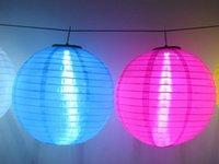 Lanternes chinoises style LED Lampes solaires Lampion Garden Courtyard boule de lumière pour les fournitures de soirée de mariage décorations de Noël