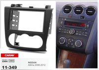 altima kit - CARAV Top Quality Radio Fascia for NISSAN Altima Stereo Fascia Dash CD Trim Installation Kit