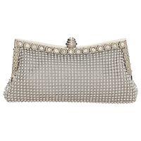 Wholesale Elegant Beading Style Handbag Rhinestone Crystal Clutch Hand Bag With Chain Ladies Wedding Evening Accessories hb268