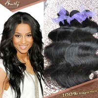 Wholesale 3pcs Remy Human hair weaves Brazilian virgin hair body wave hair weaving A Unprocessed price sale Fast