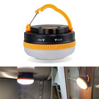 Wholesale Hot Sale Lumens Portable Outdoor Camping Lantern Hiking Tent LED Light Campsite Hanging Lamp Emergency with Handle