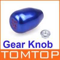 Wholesale M16 Original Speed Car Shift Gear Knob Head Aluminum Alloy for Honda Civic Blue Vehicle Tool