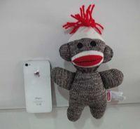 sock monkey - Free Schylling Screaming Superfly Cute Stuffed Dolls Slingshot Sock Monkey Soft Plush Toys For Children Christmas Gifts cm Free