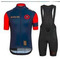 Wholesale new items Wiggins Cycling Jersey pro team Sportswear bike Clothing Short sleeve BiB Shorts Gel pad Wiggins Cycling vest