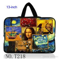 Unisex apple lisa - Mona Lisa Hot Laptop Sleeve Soft Case Bag Cover For inch quot Apple Macbook Pro Air