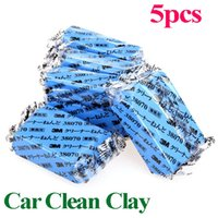 Cheap 5Pcs set Free Shipping Magic Car Truck Auto Vehicle Bar Clean Clay 180g Cleaning Soap Detailing Cleaner