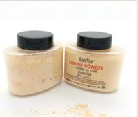 Wholesale Ben Nye Luxury Powder g New Natural Face Loose Powder Waterproof Nutritious Banana Brighten Long lasting A