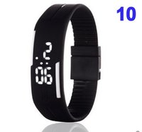 Wholesale newest LED bracelets bracelets sports watch couple watch children electronic male table female expression waterproof gift