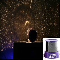 Wholesale Sky Star Colorful cosmos stars laser LED projector Star Projector Lamp LED Night light lantern romantic gift