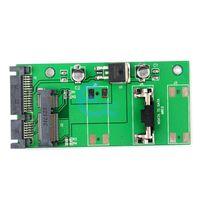 Wholesale New mm Small board mSATA SSD to SATA Drive Converter Adapter quot