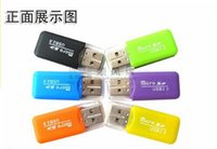 Wholesale card reader TF dedicated drive free mini card reader memory card reader
