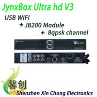 fta - JynxBox Ultra HD V3 fta hd receiver tv box Wifi usb dongle Jynxbox v3 fta satellite receiver North America