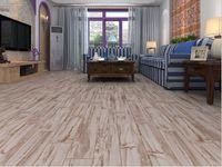 Wholesale Floor tiles Retro living room antique wood blocks Waterproof moisture slip anti fouling