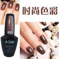 Wholesale Nail Gel ASUN Soak Off UV Gel Polish Base Coat Colours Top Coat