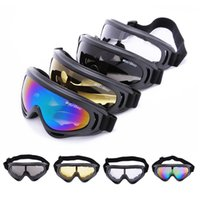 ski goggles glasses - X400 UV Protection Outdoor Sports Ski Snowboard Skate Goggles Motorcycle Off Road Cycling Goggle Glasses Eyewear Lens WOLFBIKE
