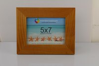 wood picture frame - Fashion household item natural color Chinese ash wood real wood solid quot X7 quot photo frame picture frame clear lacquer painted
