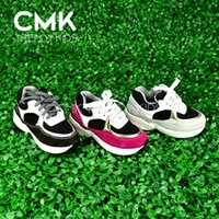 girl shoes - CMK KS040 Nubuck Leather Most Fashion Kids Breathable Mesh Shoes Kids Sneaker Girls Boys Casuel Shoes Leisure Sneakers