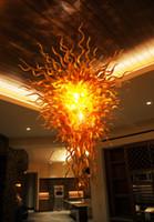 art deco interior design - Mouth Blown Borosilicate Murano Glass Dale Chihuly Art Famous Interior Lighting Design Ceiling Lamp