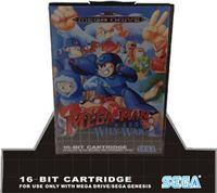 Wholesale 16 bit sega megadrive genesis game card with retail box Mega Man The Wily Wars