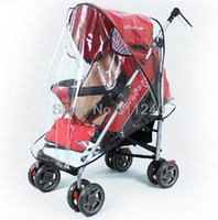 Wholesale special baby stroller rain cover baby car windscreen dust cover for stroller rain cover