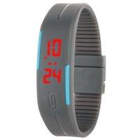 Wholesale Fashion Ultra Thin Sports Digital LED Bracelet Wrist Watch