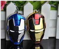 Wholesale Anime spot hit the avengers alliance buckles iron man key zinc alloy key chain