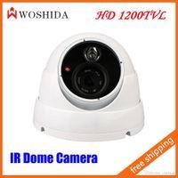Wholesale HD TVL Array Dome Camera IR Night Vision Security Camera White Woshida