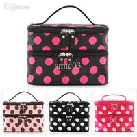 aluminum closure - and Retail Double Layered Women Cosmetic Case Zipper Closure Cosmetic Bag Case Makeup Bags