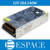 Wholesale 12V A W Switching Power Supply Driver for LED Strip AC V Input to DC V