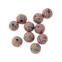 Wholesale Handmade Polymer Clay Fimo Beads Fit Earrings Bracelet mm Jewelry DIY LOOSE Beads Jewelry material colorful beads