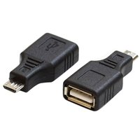 Wholesale Mini USB B Pin Male to USB A Female Charger and Data Adapter Converter VC314 W0 SUP5