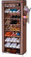 shoe cabinet - Special shoe shoe shoe cabinet containing simple dustproof nine grid ten layer IKEA shoe