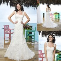 Cheap Delicate Cap Sleeve Trumpet Mermaid White Tulle Wedding Dresses Chapel Train Appliques Beaded Sweetheart Sleeveless Covered Button 3770