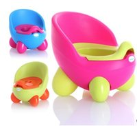 Wholesale Creative shapes Children Pedestal pan baby toilet Children s sit implement Environmental protection material