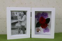 flower picture frame - Saint Valentine s Day gift classic MDF quot X6 quot photo frame picture frame and shadow box with preserved fresh flower combination