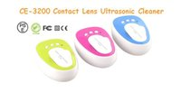 Wholesale Hot sell eye ultrasonic contact lens ultrasonic cleaner CE three color red green blue by DHL