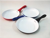 Wholesale cm Ceramic Coating Nonstick Saucepan Healthy ceramic frying pan titanium pan