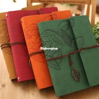 Wholesale 1509 Inch PU Leather Vintage Antique Spiral Kraft Paper Photo Albums for Baby Scrapbooking Home Decor Custom Name Free shiping