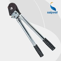 armored cable cutter - Saipwell J33 Ratcheting ratchet cable cutter mm2 Max Germany Type Wire Cutter Plier Hand Tool not for cutting Armored Cable