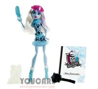 8-11 Years abbey baby - Monster High Art Class Abbey Bominable Doll Best gift for girl new monster Hight doll toys