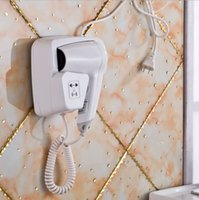 Wholesale Wall mounted convenient hotel household hair dryer professional hair dryer