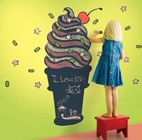 Wholesale Taste original other blackboard posted first scrub a sundae cone wall paper writing children s room learning post