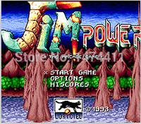 arcade driving - Brand New Bit Game Cartridge Classic Game Card for Sega Mega Drive Genesis Jim Power The Arcade Game