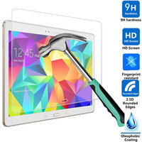 Wholesale Explosion Proof H mm Screen Protector Tempered Glass for Samsung Galaxy Tab S T800