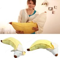 banana seat - Novelty cm Cotton Skinned Banana Plush Stuffed Toy Car Home Decor Pillow Cushion Personalized Gift