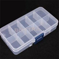 Wholesale 2014 New Home Using Mini Organizer for Jewelry Plastic Storage Boxes Adjustable Jewelry Box