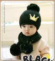 Wholesale 2015 Kids Hat Cartoon Taddler Owl Crochet Hats Children Handmade Knit Woolly EarFlap Hat Cute Newborn Crochet Outfits scarf MC