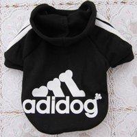 Nova moda outono inverno verão PET roupas para cachorros algodão Sportswear frescos roupas para cães