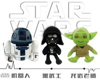 Wholesale Free EMs New Star Wars Plush Toy CM Yoda Darth Vader robot wisdom elderly Plush Toys Soft Stuffed Doll Toys